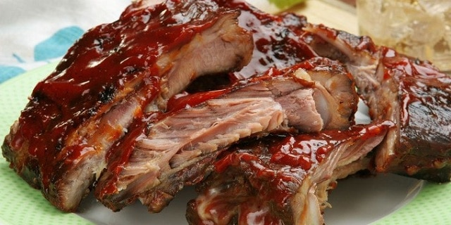 Spareribs hjemmelavede american barbeque ribs for Spareribs grillen gasgrill