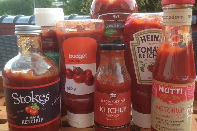 Verdens bedste ketchup