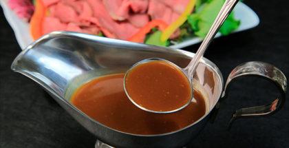 Opskriften på Brun Sauce
