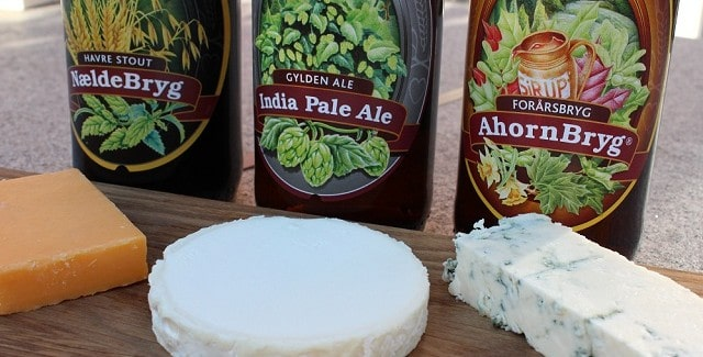 Øl til ost – fra Skovlyst Bryghus