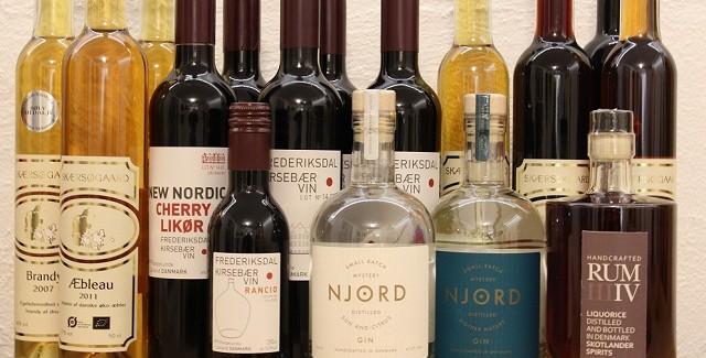 Made in Denmark – Rom, Gin, Brandy, Hedvin, Calva mm.