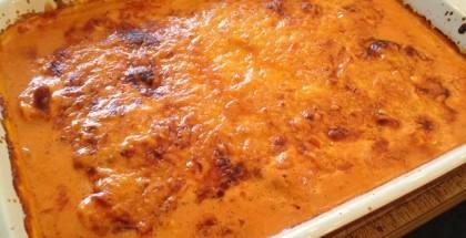 Koteletter i fad i grill