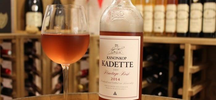 Kadette Pinotage Rosé Kanonkop 2014