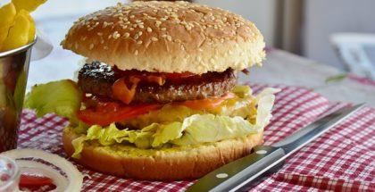 Burger i grill