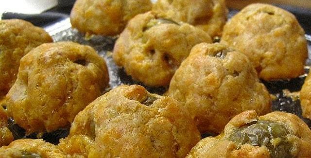 Indbagte oliven – en nem og lækker snack