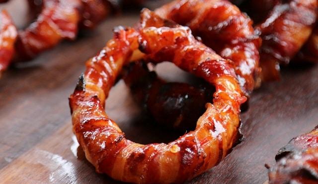 Bacon på grill