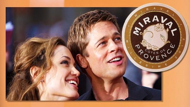 rosévin fra Angelina Jolie og Brad Pitt