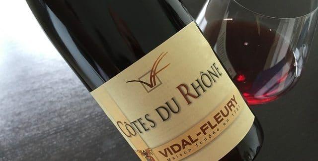 Vidal-Fleury Côtes Du Rhône 2012 – endnu en fremragende grillvin