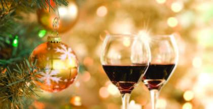 Julevin og vin til julemaden