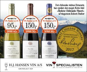 Grillvin rødvin og hvidvin