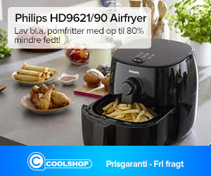Collshop billig airfryer
