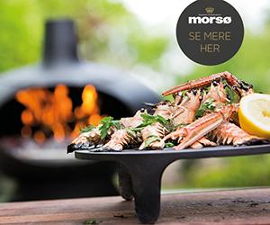 Pizza og madovn fra Morsø