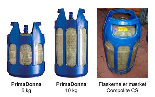 Primagaz gasflasker