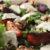 Grillede blommer med gedeost