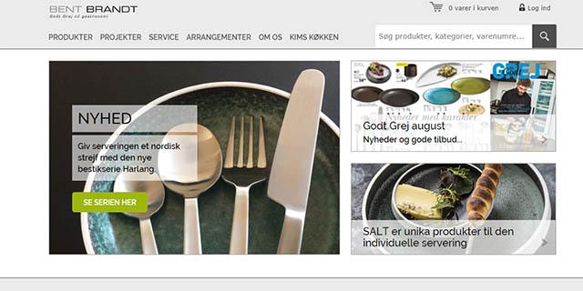 Bent Brandt – Køkkengrej til professionel og amatør