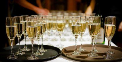 Champagne og drinks