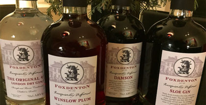 Gin og tonic fra Foxdenton