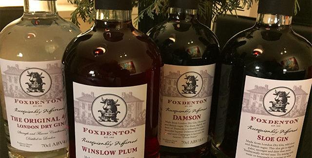 Foxdenton –  Gin og udvikling af gin siden 1367