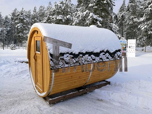 Sauna, udesauna og vilmarksbad