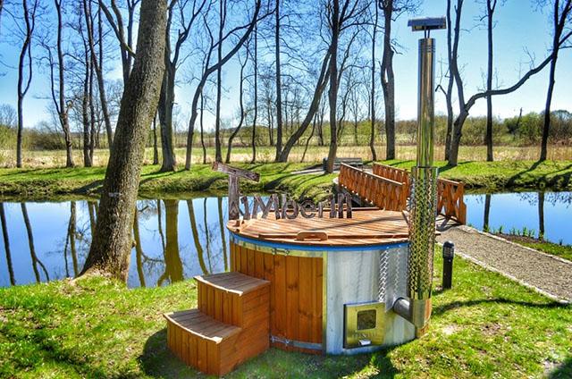TimberIn spa og sauna