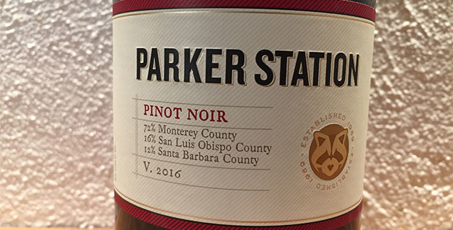 Parker Station Pinot Noir 2016 – Amerikansk Bourgogne