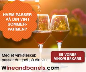 Grill vin i vinskab