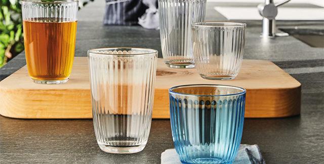 Bormioli Line drikkeglas – Smukke og praktiske