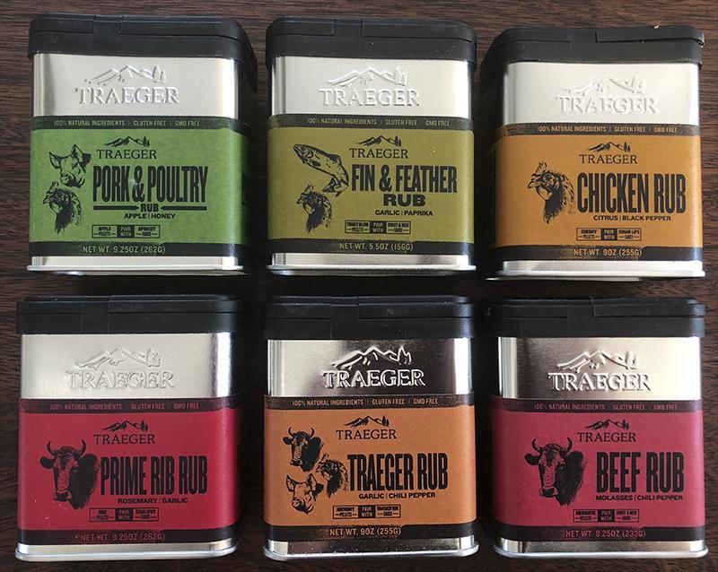 Krydderiblandinger fra Traeger